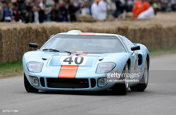 1965 Ford GT40 Gulf car during the 2008 Goodwood Festival of Speed