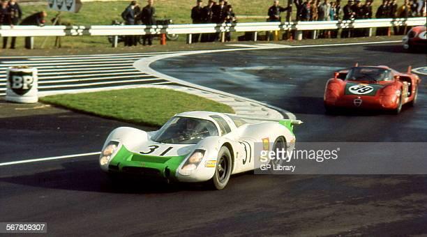 Le Mans 29th September 1968 Car no 31 Jo Siffert/Hans Herrmann Porsche 908 retired and car no 39Ignazio Giunti/Nanni Galli Alfa Romeo T33/2 finished...
