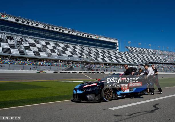 Le Mans BMW Team RLLuring the Rolex 24 IMSA Race on January 25th 2020 atDaytona International Speedway in Daytona FL