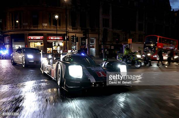 Le Mans comes to London 919 Hybrid Mark Webber and new Panamera EHybrid brings Porsche racewinning technology alive on the city streets on September...