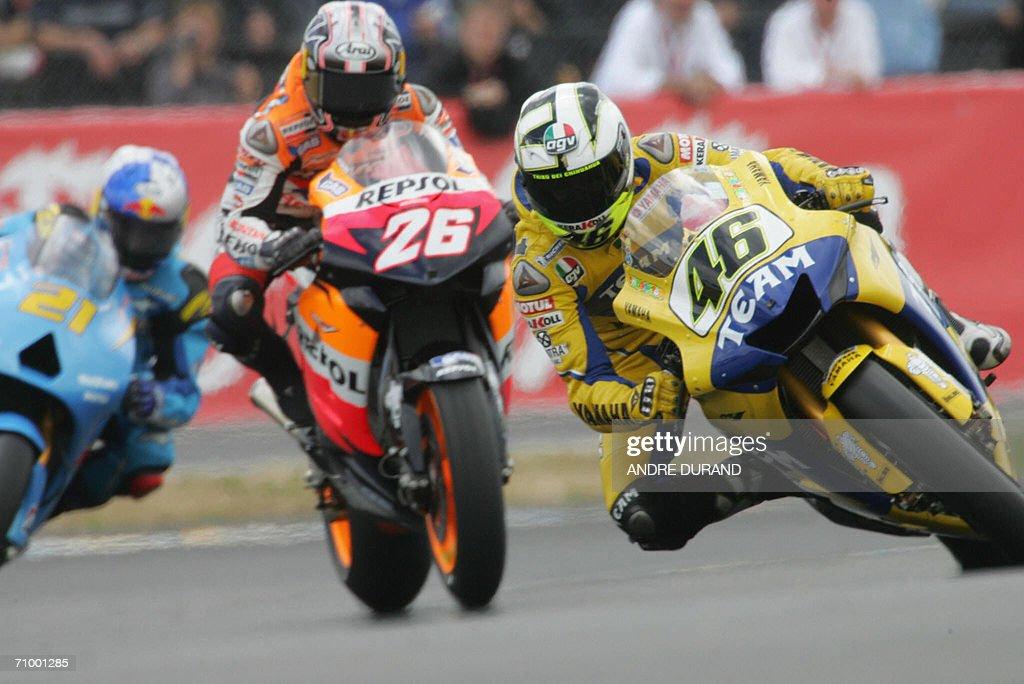 CORRECTION BYLINE - Italian MotoGP world : News Photo