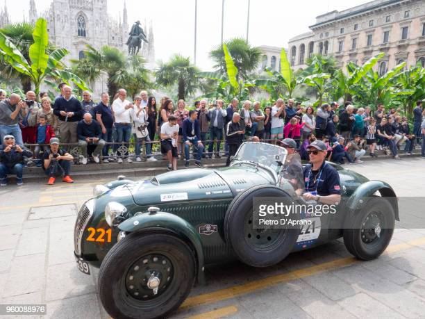 Le Mans Replica during 1000 Miles Historic Road Race on May 19 2018 in Milan Italy