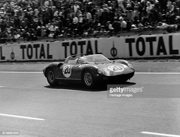 Le Mans winning Ferrari 275P driven by Guichet Vaccarella Artist Unknown