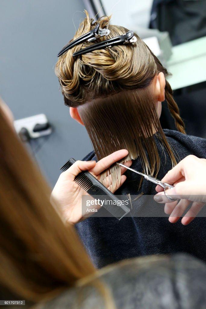 Haircut. : News Photo