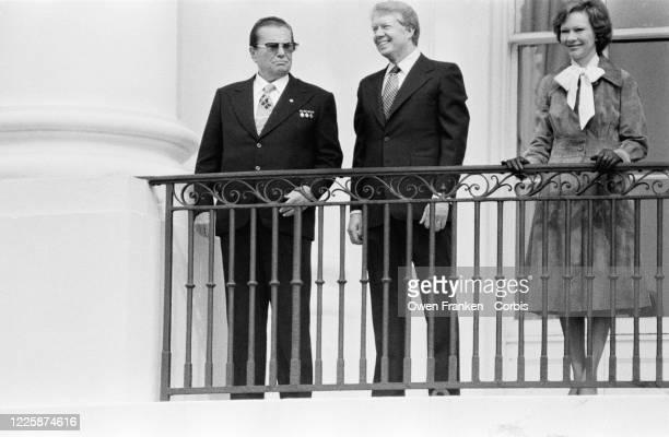 Le Maréchal Tito en visite officielle à Washington