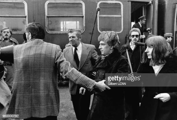 Le mathécien ukrainien dissident soviétique arrive encore sous l'effet des médicaments mais libre à Vienne Autriche en janvier 1976