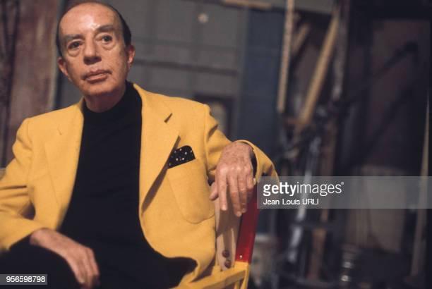 Le metteur en scène américain Vincente Minnelli en septembre 1977 à Deauville, France.
