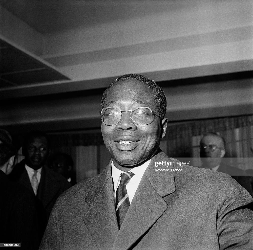Léopold Sédar Senghor en 1959 : News Photo