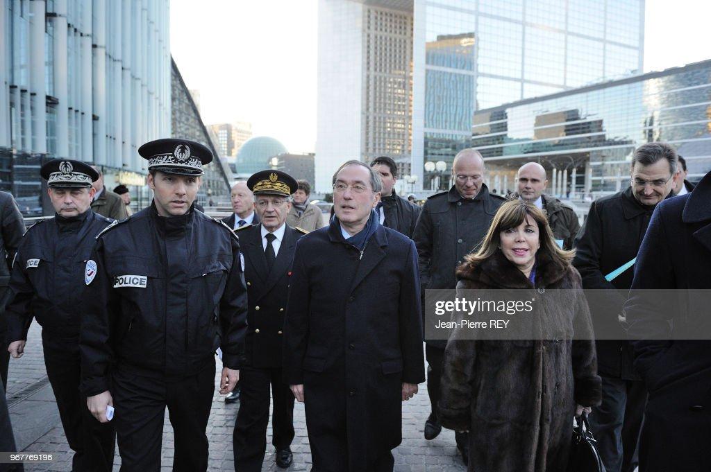 Claude Guéant à la Défense Pictures | Getty Images