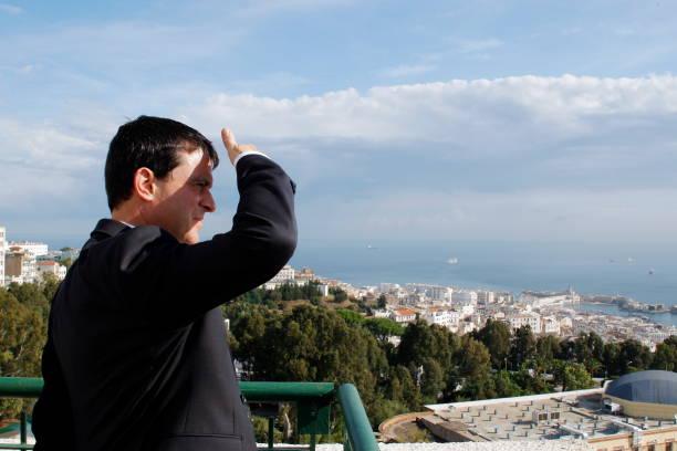 Manuel Valls à Alger Pictures | Getty Images