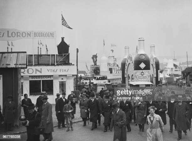 Le ministre du Commerce Paul Marchandeau à son arrivée à l'inauguraiton de la Foire de Paris France le 25 mai 1935