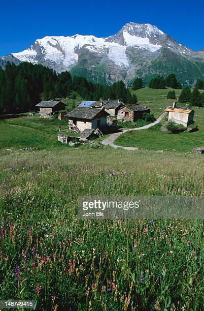 Village Of Le Monal Stock Photos and Pictures | Getty Images