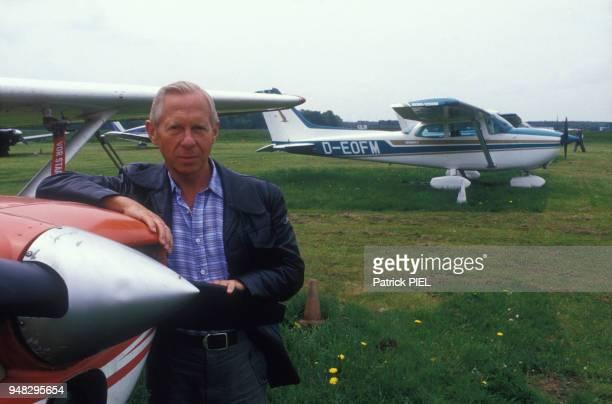 Le moniteur du jeune pilote allemand Mathias Rust qui a réussi l'exploit de poser son petit monomoteur Cessna près de la Place Rouge à Moscou le 28...