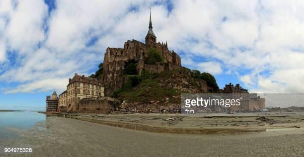 Le Mont-Saint-Michel panorama (France, Normandy)