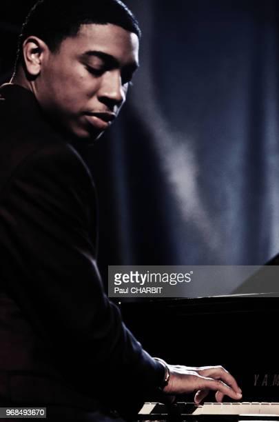Le musicien Christian Sands en concert live au 'New Morning' le 17 mars 2016 à Paris France