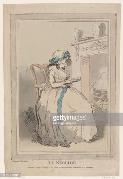 Le N�glig�, March 6, 1786. Artist Thomas Rowlandson.