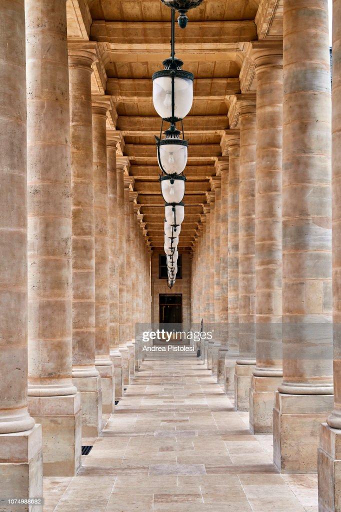 Le Palais Royal, Paris : Stock Photo
