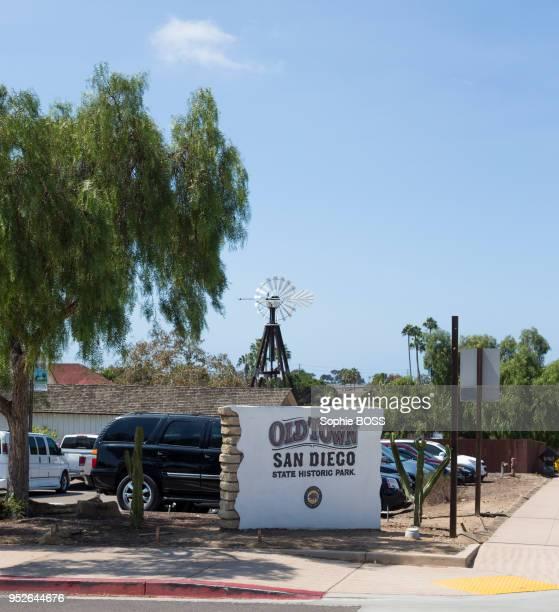 Le parc historique d'État d'Old Town, 6 septembre 2016, San Diego, Californie, Etats-Unis.