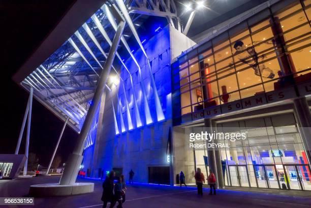 Le Parc OL le 9 janvier 2016 Décines France Avec 59 500 places il répond aux éxigences de l'UEFA et peut postuler à l'organisation d'une finale de...