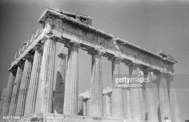 Le Parthénon à Athènes en août 1978 en Grèce
