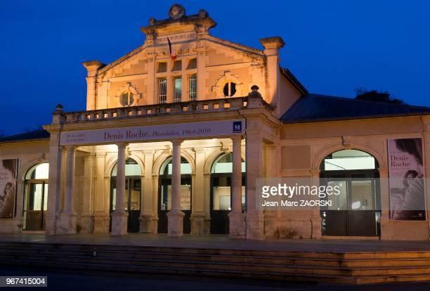 Le Pavillon populaire espace d'art consacré à la photographie exposition sur l'écrivain poète et photographe français Denis Roche « Photolalies...