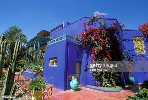 Le peintre franais Jacques Majorelle aprs de nombreux voyages au Maroc fit construire en 1922 une magnifique villa avec jardins dans le quartier de...