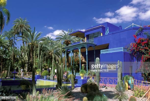 Le peintre français Jacques Majorelle après de nombreux voyages au Maroc fit construire en 1922 une magnifique villa avec jardins dans le quartier de...