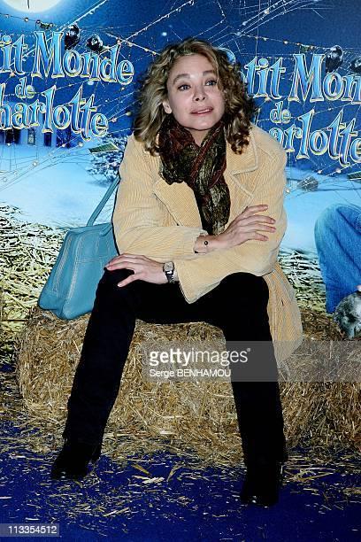 'Le Petit Monde De Charlotte' Premiere In Paris France On February 04 2007 Grace de Capitani