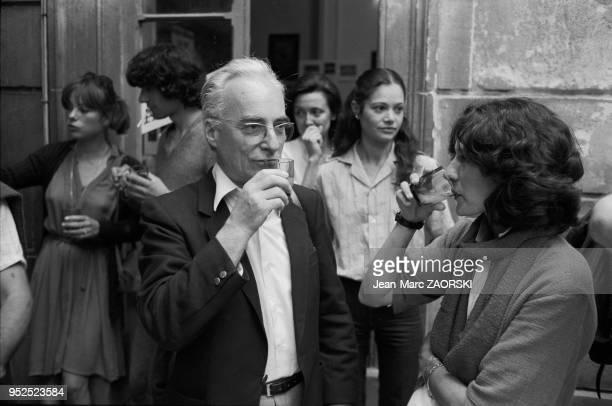 Le photographe français Jean Dieuzaide lauréat du prix Niepce en 1955 et du prix Nadar 1961 fondateur de la galerie du Château d'eau à Toulouse lors...