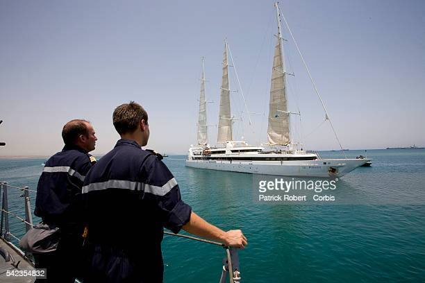 Le Ponant sailing cruiser leaves Djibouti to sail to Marseille The luxury French tourist yacht has been seized by Somalian Pirates believed to be...