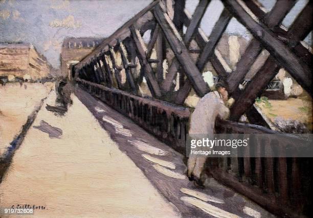 Le Pont de l'Europe 1876 Found in the Collection of Musée du Petit Palais Geneva