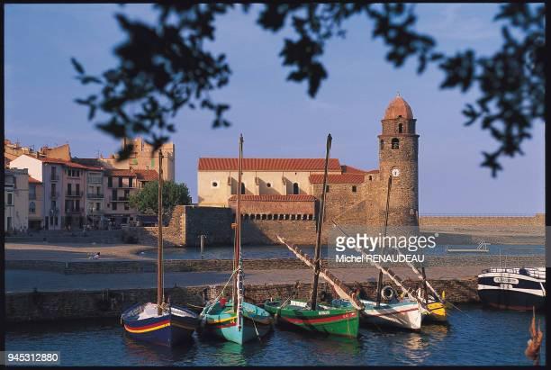 Le port de Collioure, Pyr?n?es-Orientales.