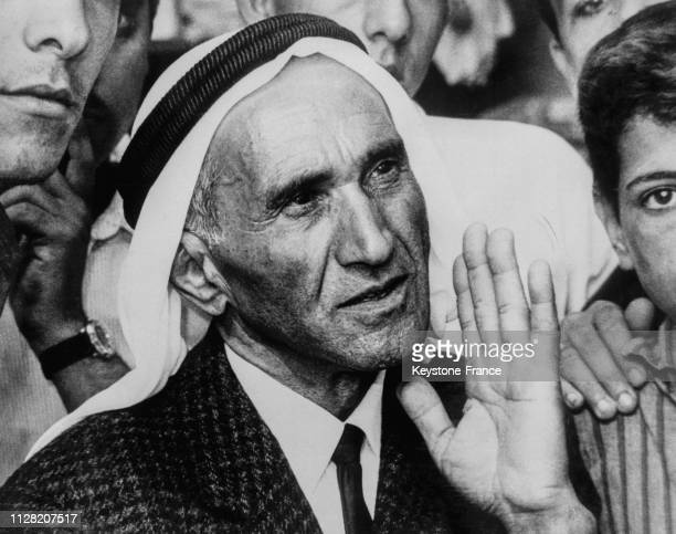 Le père de Sirhan Sirhan, accusé d'avoir assassiné le sénateur Robert Kennedy, en Jordanie, en juin 1968.