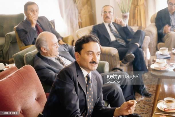 Le Premier Ministre turc Bülent Ecevit en interview en août 1974 Turquie