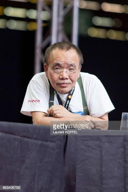 Le producteur de cinéma japonais Masao Maruyama à Japan Expo le 3 juillet 2014 au parc des expositions de Villepinte France