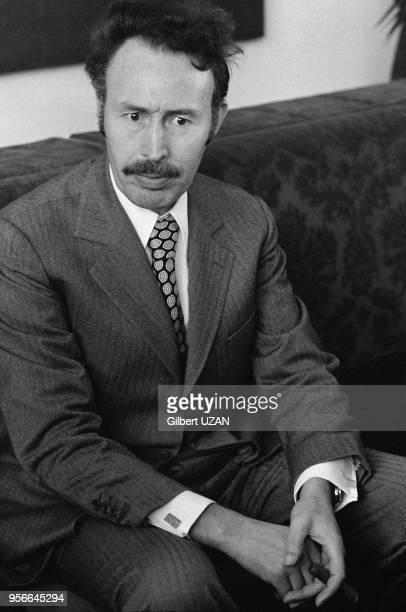 Le président algérien Houari Boumédiène lors du sommet de l'OPEP à Alger en mars 1975 Algérie