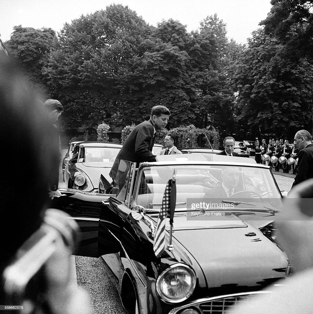 Voyage des Kennedy à Paris : News Photo