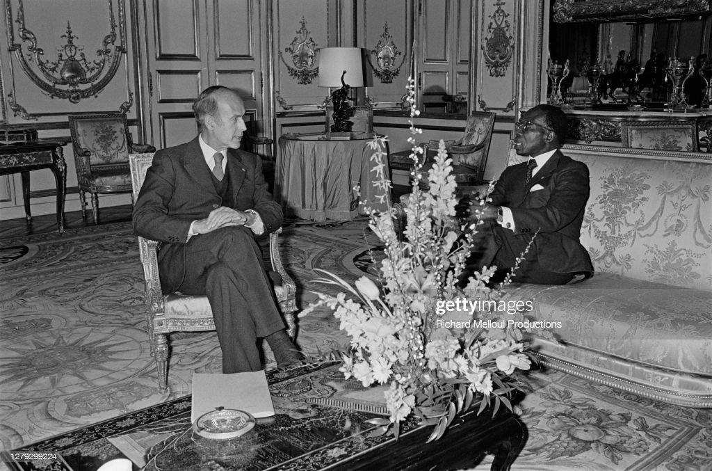 Leopold Senghor en visite privée à Paris : Photo d'actualité
