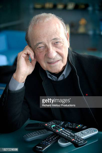 Le publicitaire et homme d'affaires Jacques Seguela dans son bureau parisien en 2012.