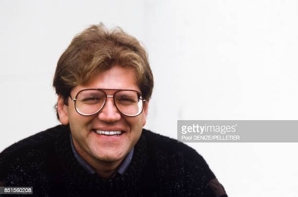 Le réalisateur américain Robert Zemeckis le 15 septembre 1985 à Deauville France