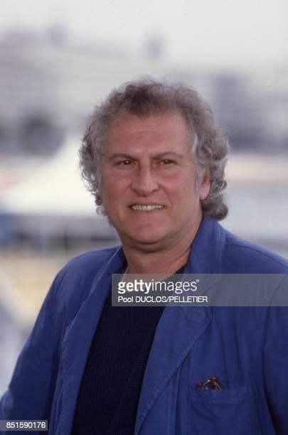 Le réalisateur argentin Fernando Solanas lors du Festival de Cannes en mai 1988 France