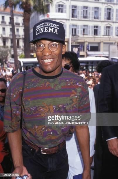 Le réalisateur du film 'Boyz N the Hood' John Singleton en mai 1991 à Cannes France
