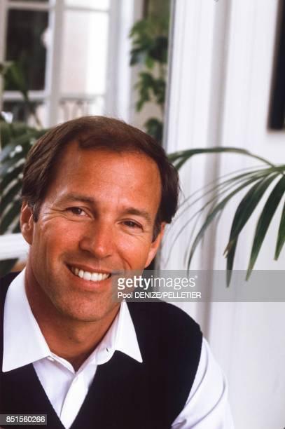 Le réalisateur et producteur américain Frank Marshall le 15 septembre 1985 à Deauville France