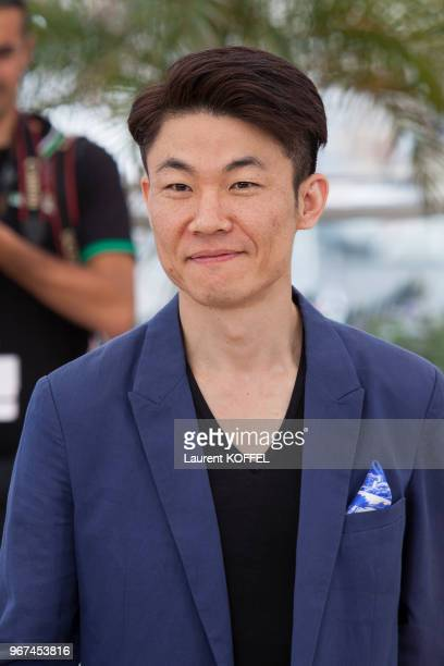Le réalisateur Hong WonChan lors du photocall du film 'O Piseu' pendant le 68eme Festival du Film Annuel au Palais des Festivals le 19 mai 2015...