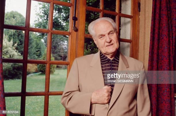 Le réalisateur Jean Delannoy en décembre 1992 France