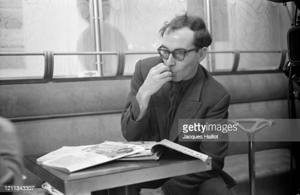 Le réalisateur Jean-Luc Godard