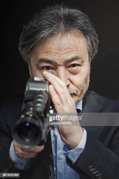 Le réalisateur Kiyoshi Kurosawa lors du photocall du film 'Kishibe No Tabi' pendant le 68ème Festival du Film Annuel au Palais des Festivals le 17...