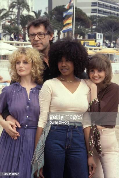 Le réalisateur Milos Forman présente son film 'Hair' en compagnie des actrices Beverly d'Angelo Cheryl Barnes et Annie Golden au Festival de Cannes...