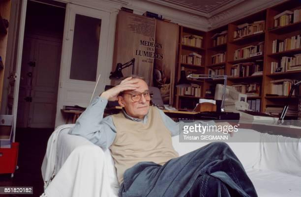 Le réalisateur René Allio en décembre 1992 France