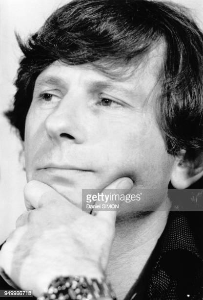 Le réalisateur Roman Polanski au festival de Cannes dans les AlpesMaritimes en France en 1979